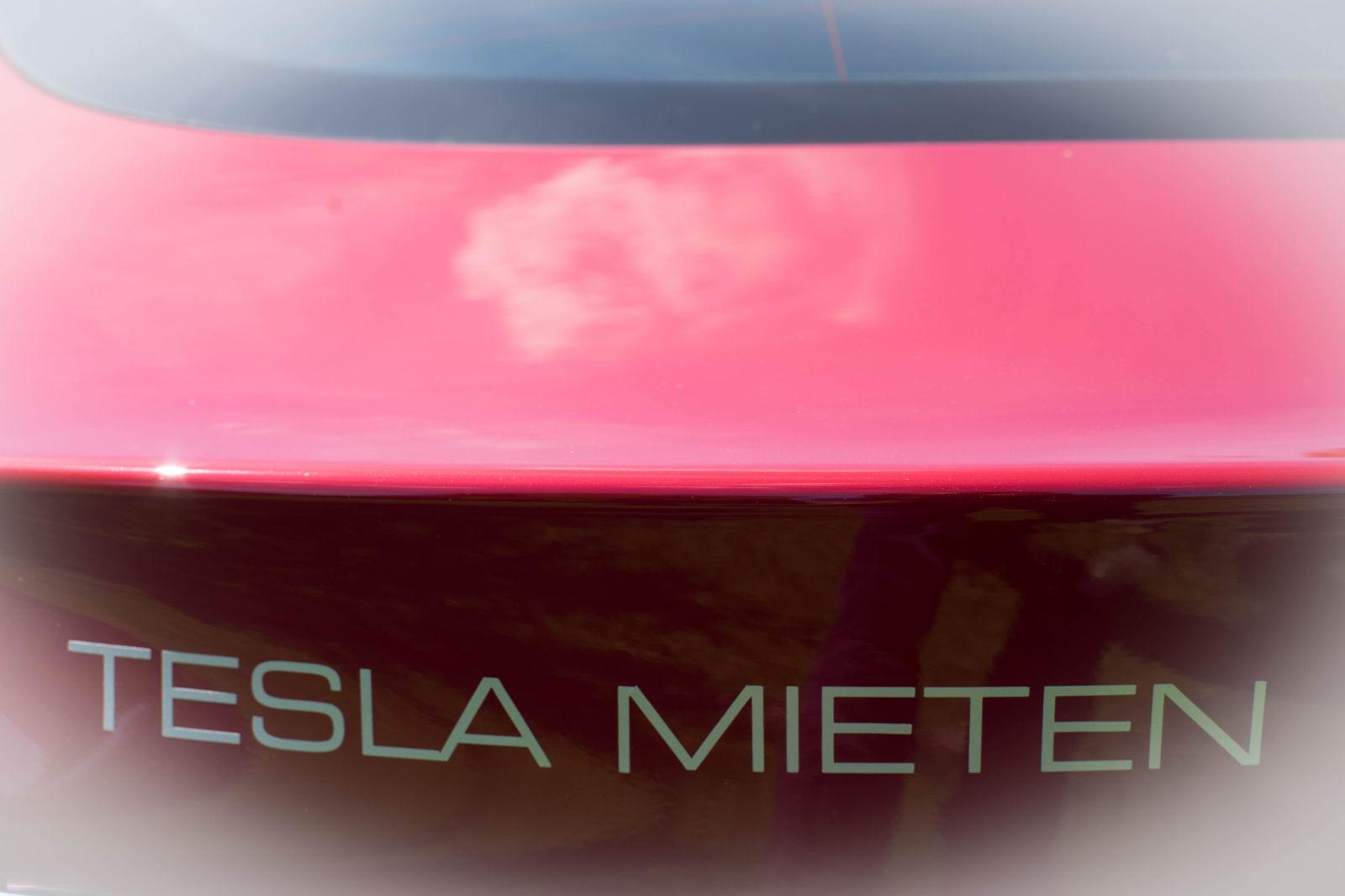 Tesla mieten für Hochzeit auf Rügen