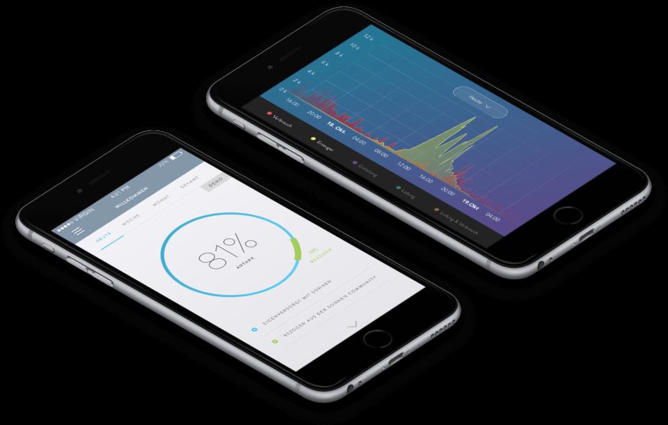 App für Solarstromspeicher, Stromspeicher, Energiespeichersystem,
